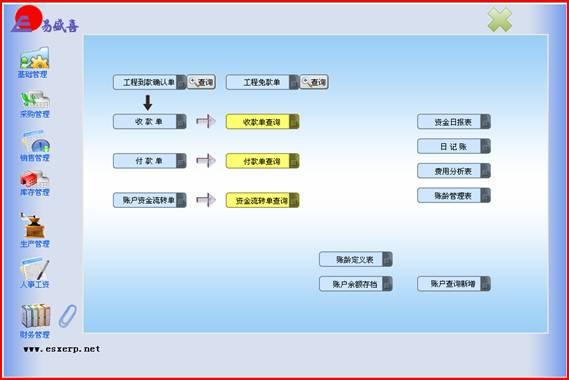 合同管理流程图_家具